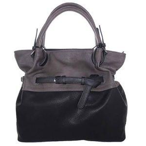 Sondra Roberts Two Tone Belted Handbag,NWT